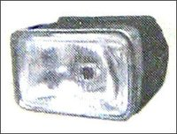 Bikes Rectangular Shape Head Light