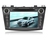 Car DVD Player Audio System With GPS for 2010 Mazda3