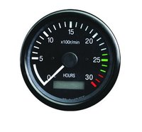 Tachometer With Hour Meter