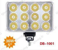36W Truck Trailer LED Headlight