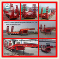 3 Axles Low Bed Semi Trailer With Ladder