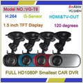 Full Hd1080p Smallest Car DVR(VG-T8)